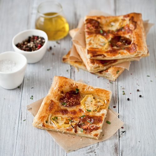Roasted Tomato and Garlic Tart with Fresh Marjoram and ...