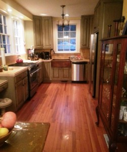 My beloved kitchen in my home on Gibbes Street.