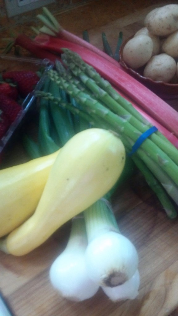 Opening day Farmers' Market Finds