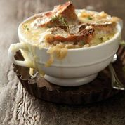 French Onion Soup from The French Cook - Soups & Stews. Photo by Chia Chong