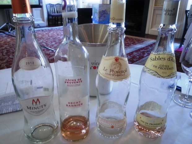 Beautiful rose bottles from Provence.